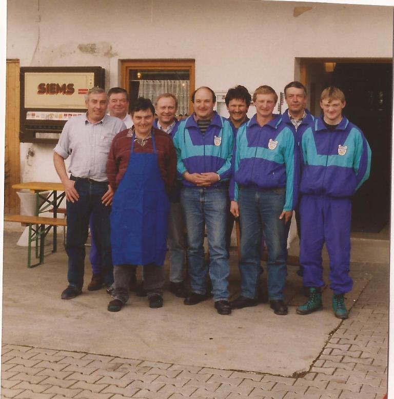 1993 02 Aufstiegsfeier beim Weite