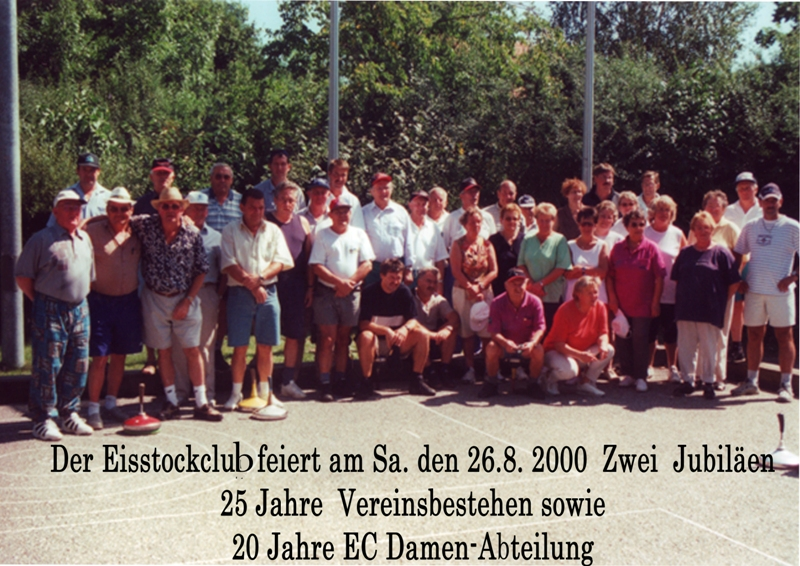 2000 08 26   der Eiststockclub feiert  zwei  Jubiläen