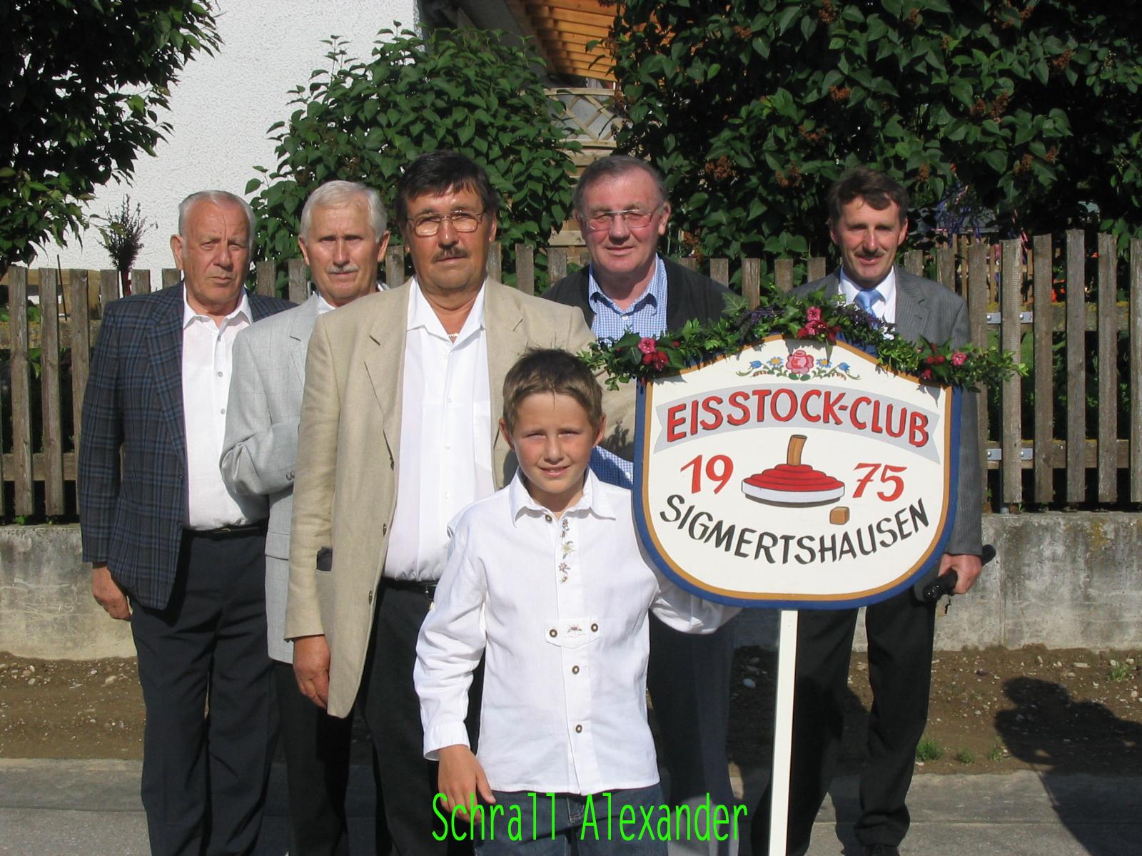 2005 06 04 Festumzug 100 Jahre freiw.Feuerwehr Sigmertsh.