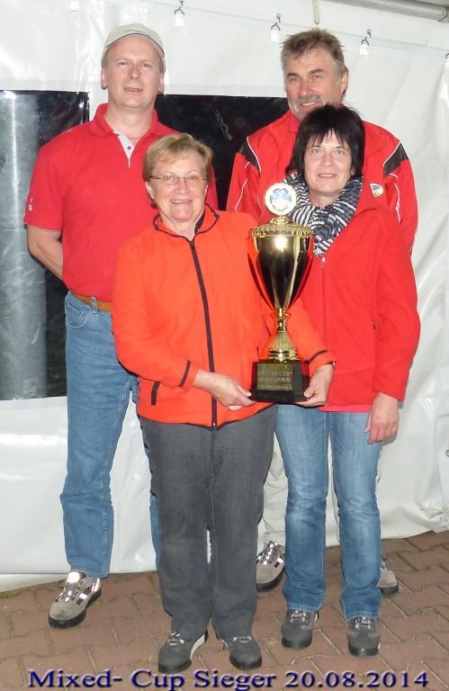 wir gratulieren dem Sieger 2014  Kleinberghofen