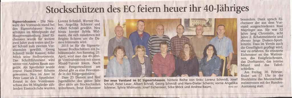 2005  02 10 Stockschützen des EC feiern heuer ihr 40-Jähriges